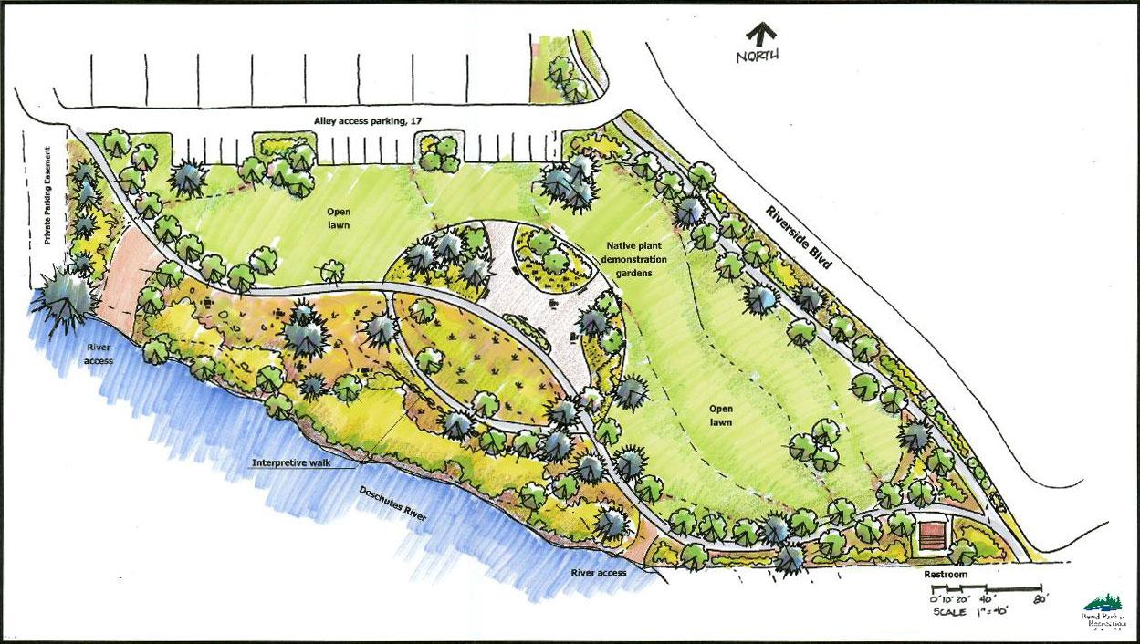 Plan Concept miller s landing preliminary concept plan c bend neighborhood